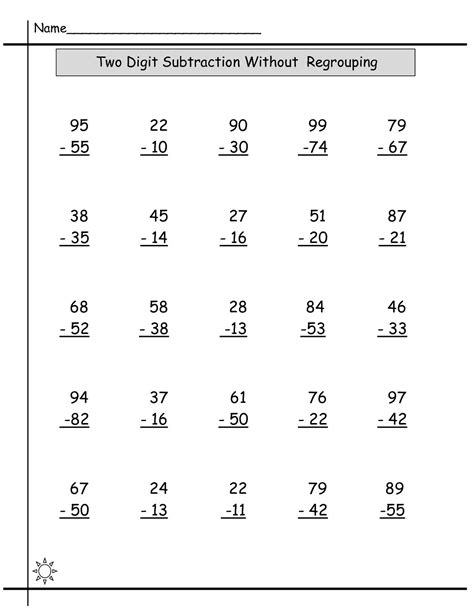Year 3 Maths Worksheets Free And Printable  Learning Printable