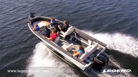 Legend Boats Youtube by Best Aluminum Fishing Boats By Legend Boats 20 Xcalibur