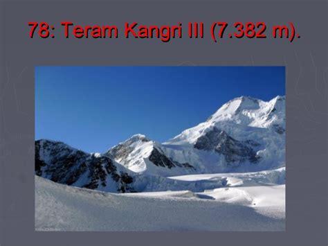 Las Montañas Mas Altas Del Mundo Parte 7