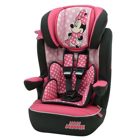 toys r us siege auto disney minnie mouse pink dots imax car seat 1 2 3