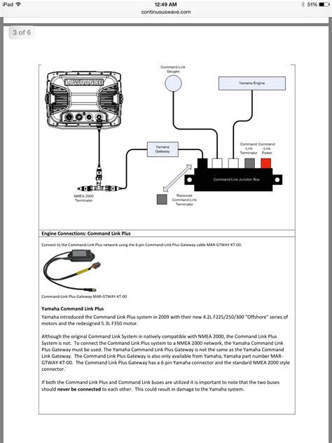 yamaha to garmin n2k with command link a few simple questions the hull boating and