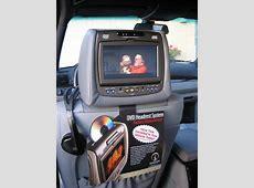 INViSION's 2007 BMW X5 E70 DVD Headrest Kit Xoutpostcom