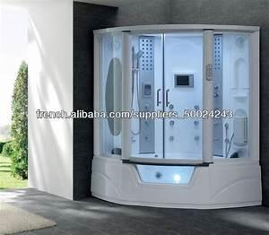 g152 vapeur et salle de douche avec baignoire jacuzzi tv With porte de douche coulissante avec radio mp3 salle de bain