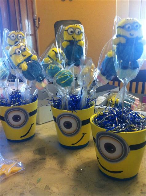 minion table decor party theme despicable me