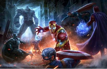 Marvel Avengers Justice League Dc Wallpapers Superheroes