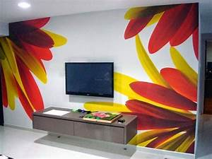 Wall painting creative ideas and colors
