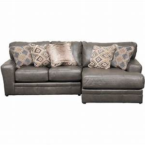 Denali 2 piece italian leather sectional with raf chaise for Elena leather 2 piece sectional sofa sofa chaise