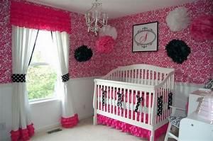 Baby nursery sweet girls room ideas with tree wall art and