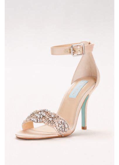 embellished high heel sandals  ankle strap davids