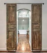 Make A Doorway Look Wider With Sliding Shutters Charming Ideas For Above Kitchen Cabinet Decor Home And Cabinet Ideas For Decorating Above Kitchen Cabinets Best Home Decoration Kitchen Cabinet Door Design Cabinet Doors Custom Custom Cabinet Doors