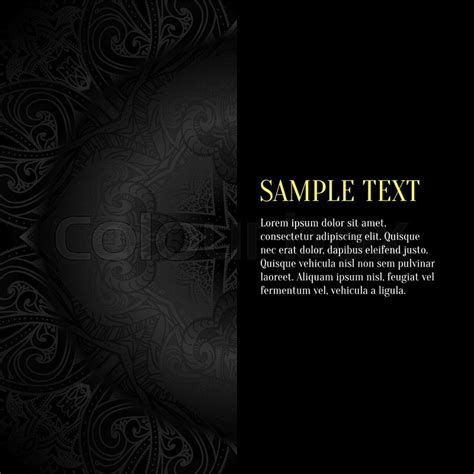 black background luxury black design template  black