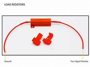 Load Resistors Installation Diagram Guide For Turn Signals