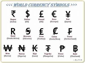 8 best currency images on Pinterest | Currency symbol ...