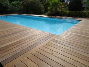 Bois Terrasse Piscine : pose tour de piscine proche mont de marsan ~ Melissatoandfro.com Idées de Décoration