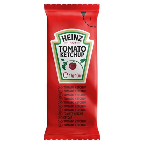 Heinz Tomato Ketchup 200 x 11g | BB Foodservice