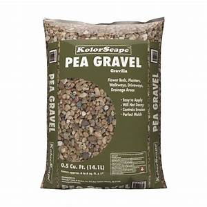 Shop Rock City 0 5-cu ft Pea Gravel at Lowes com