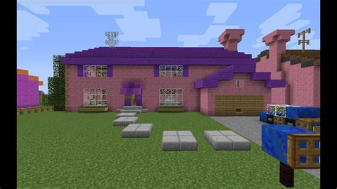 simpsons flanders house  minecraft youtube