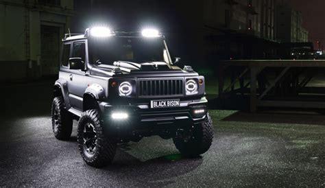 Lada Da Terra Moderna by Suzuki Jimny Black Bison La Muscolosa Classe G In