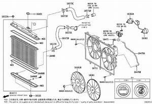 Toyota Highlander Radiator Coolant Hose  Engine  Cooling