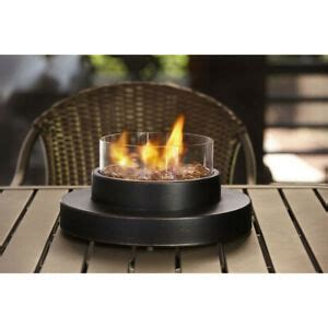 table top portable heater patio deck gas fireplace fire