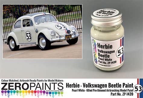herbie  volkswagen beetle paint ml zp