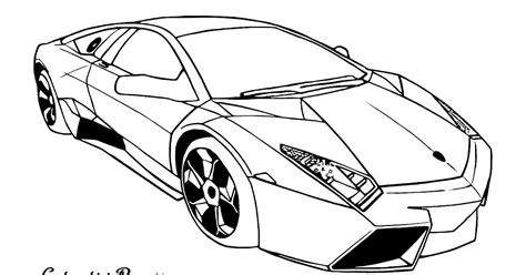 Kleurplaat Lamborghini Sesto Elemento by Kleurplaten Autoos
