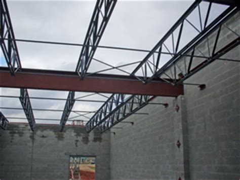 Metal Floor Joist Bridging by Pin Steel Joists Bar On