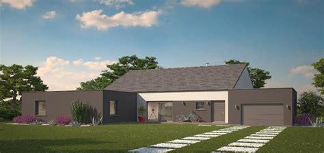 plan maison 3 chambres plain pied garage extension maison toit plat phénix évolution