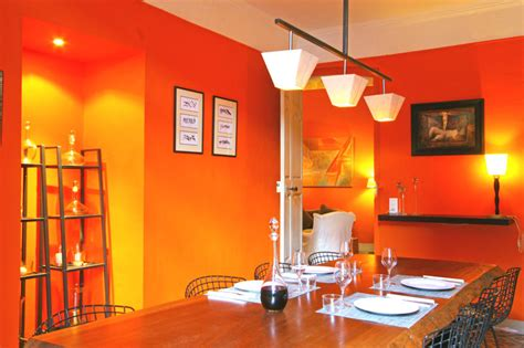cuisine orange inspiration décoration cuisine orange