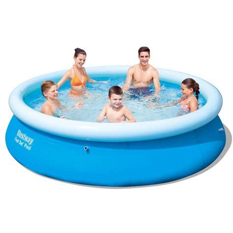 vidaXLse  Bestway Rund uppblåsbar pool 305 x 76 cm 57266