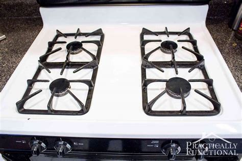 cleaning stove top how to really clean a stove top even all the baked on gunk