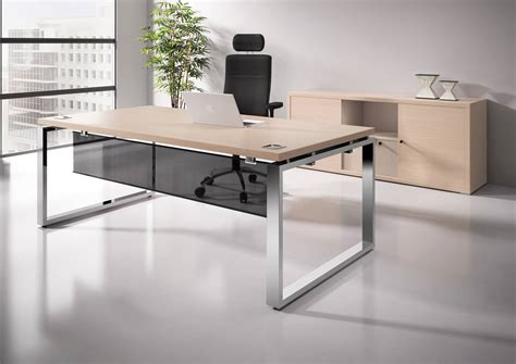 les bureau bureau direction prestige pied ruban et table de