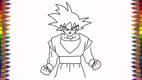 draw goku  dragon ball  step  step easy