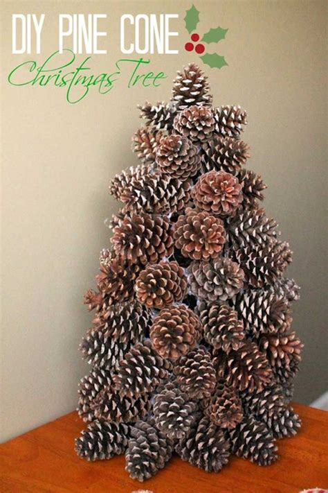 diy pinecone craft projects  christmas decoration