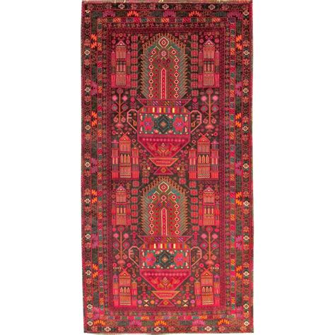 Wool Rugs by Size 3 6 X 6 8 Belouch Wool Rug From Afghanistan