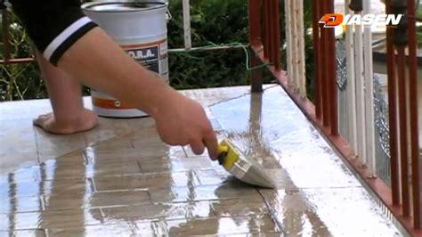 impermeabilizzanti per terrazze o r a antipioggia by diasen impermeabilizzante