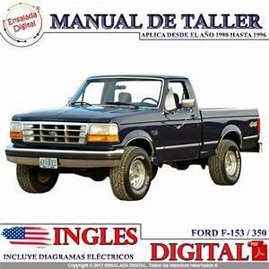 Manual Automotriz Ford F-150  250  350 Taller 80-95 Ingles