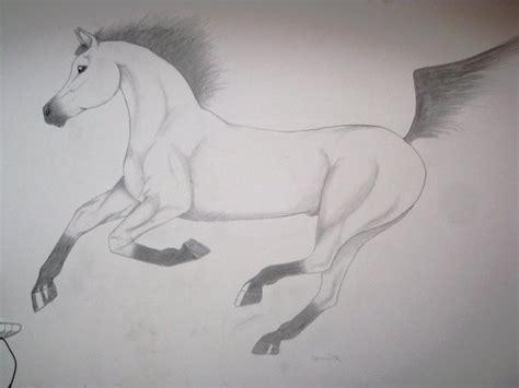 chambre cheval un cheval que j 39 ai fait sur mon mur de chambre