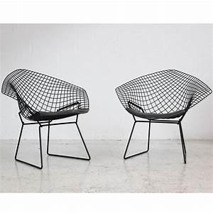 Bertoia Diamond Chair : knoll bertoia diamond chair wire chair metal seat ~ A.2002-acura-tl-radio.info Haus und Dekorationen