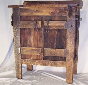 custom made reclaimed barnwood bathroom vanity With cheap barnwood furniture