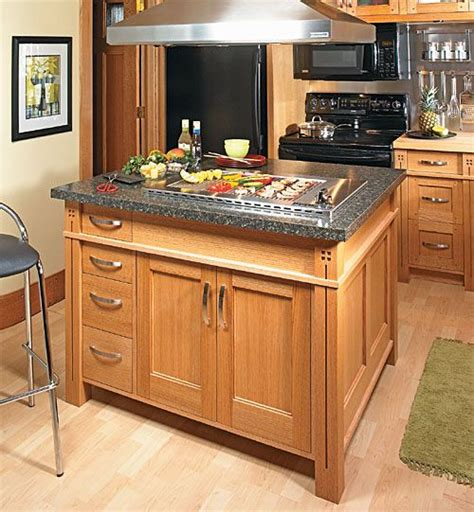 bench wood woodworking plans for a kitchen island