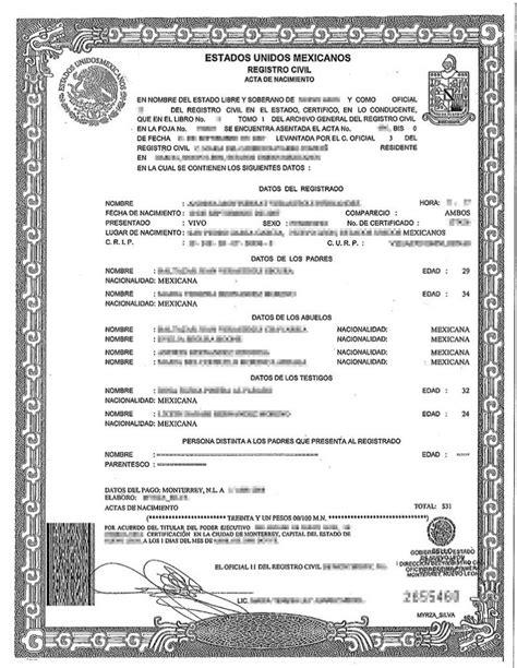 Birth Certificate Translation Services Chicago | BURG