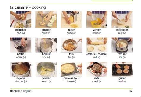 faire une cuisine des verbes pour faire une recette fle vocabulaire