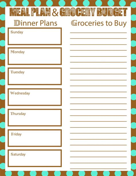 grocery expenses spreadsheet  grocery list budget