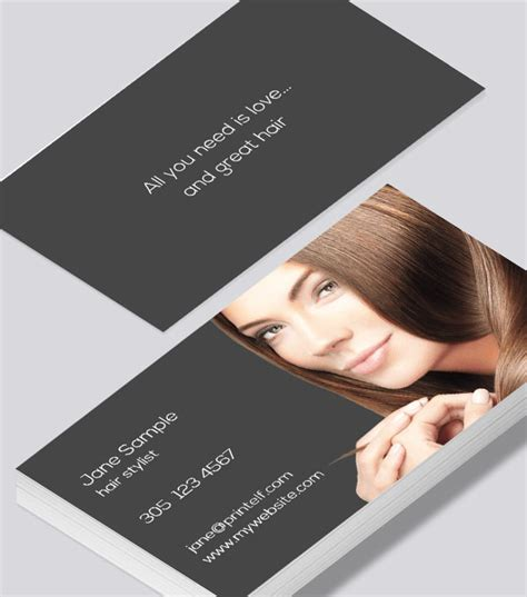 Check spelling or type a new query. hair stylist business cards - Modern Design