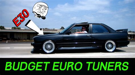 6 Budget Friendly European Tuner Cars Youtube