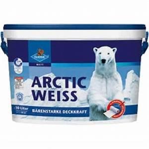 Test Wandfarbe Weiß : classic arctic weiss wandfarben im test ~ Lizthompson.info Haus und Dekorationen