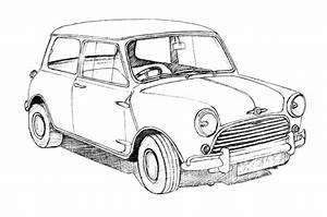 Photos: Simple Pencil Sketches Of Cars, - DRAWING ART GALLERY