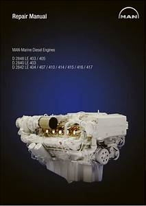 Man Marine Diesel Engine D 2848 Le 403 Service Repair Manual