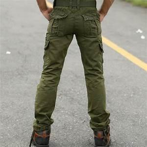 mens military style cargo pants - Pi Pants